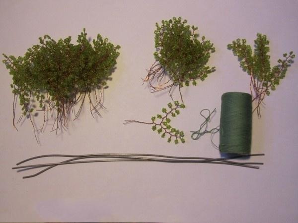 Дерево из бисера 1
