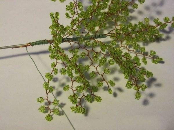 Дерево из бисера 13