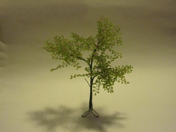 Дерево из бисера 21