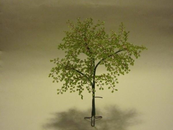 Дерево из бисера 22