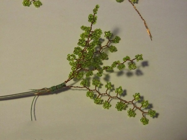 Дерево из бисера 7